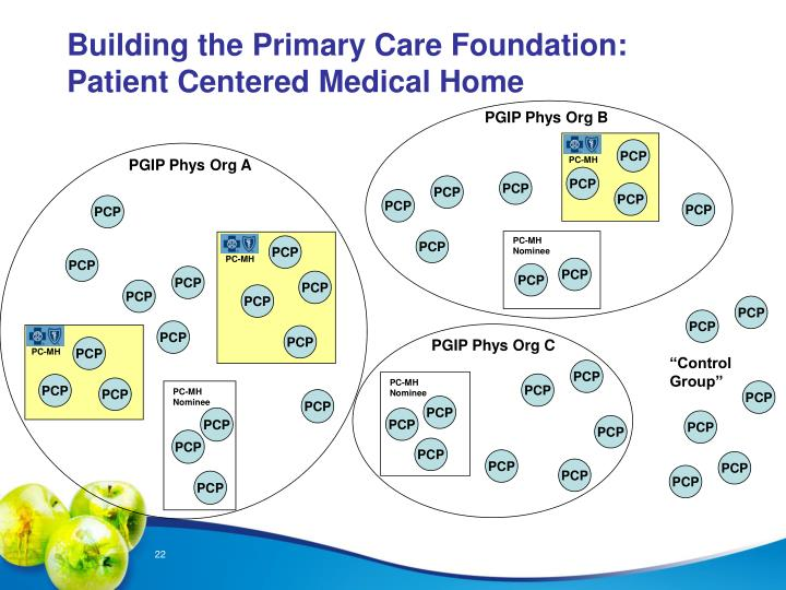 Building the Primary Care Foundation: Patient Centered Medical Home