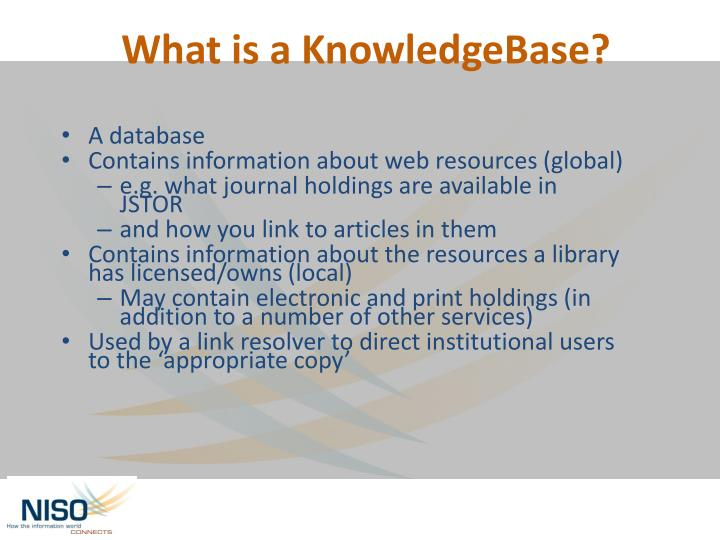 A database