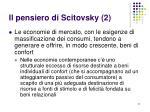 il pensiero di scitovsky 2