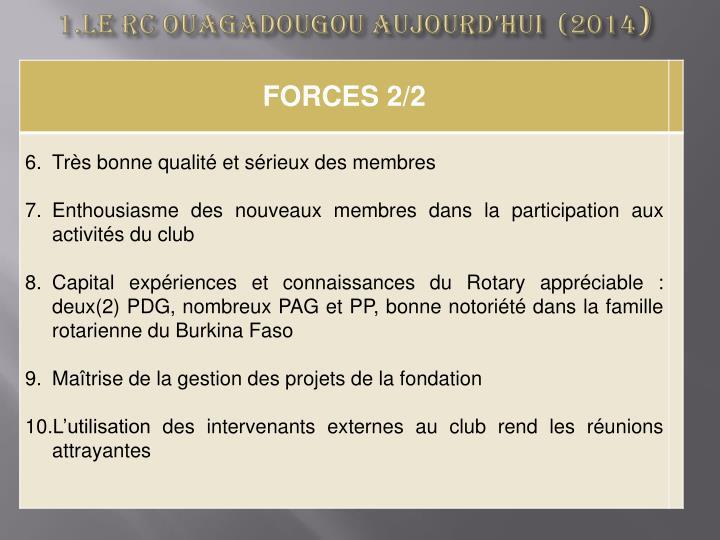 1.Le RC OUAGADOUGOU AUJOURD'HUI  (2014