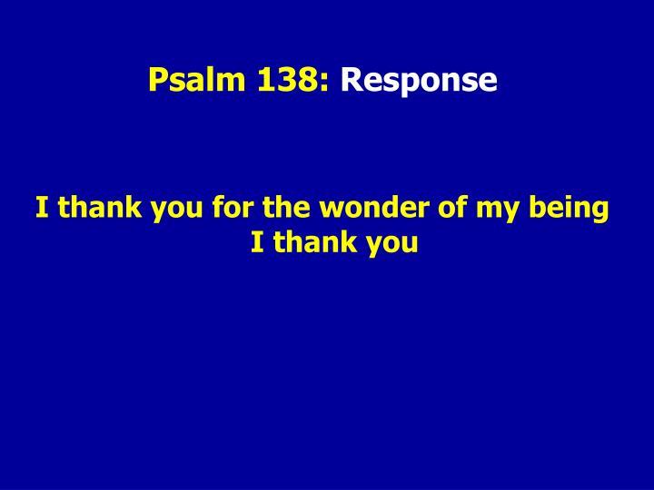 Psalm 138: