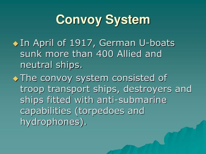 Convoy System