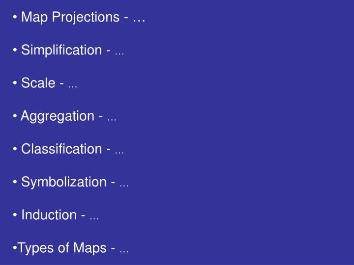 Map Projections - …