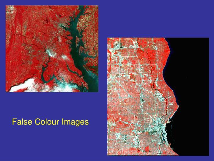 False Colour Images