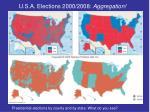 u s a elections 2000 2008 aggregation