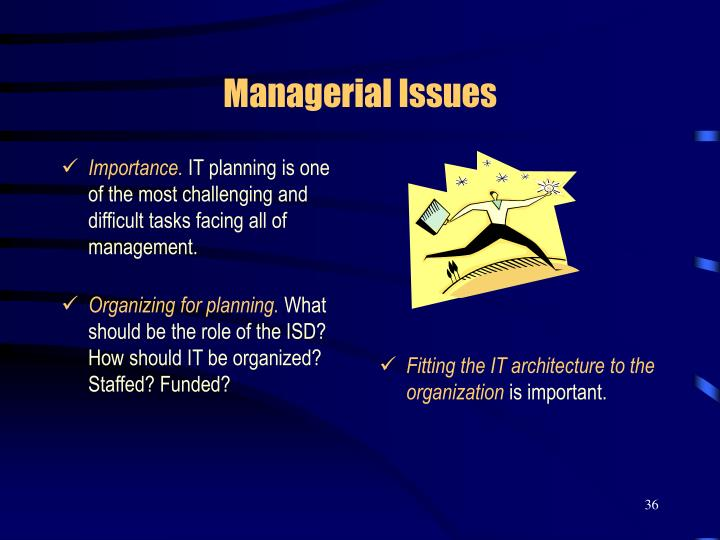 Fitting the IT architecture to the organization