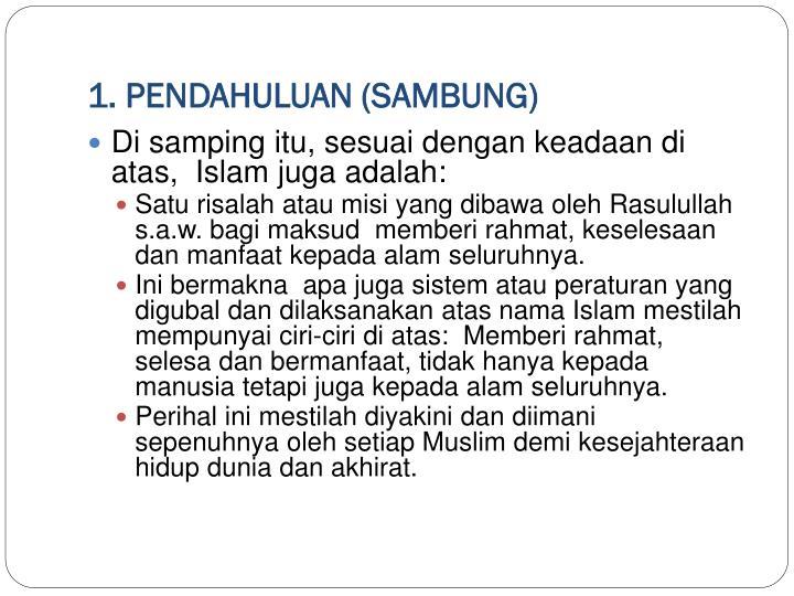 1. PENDAHULUAN (SAMBUNG)