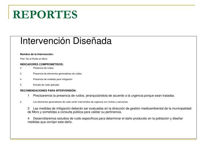 REPORTES