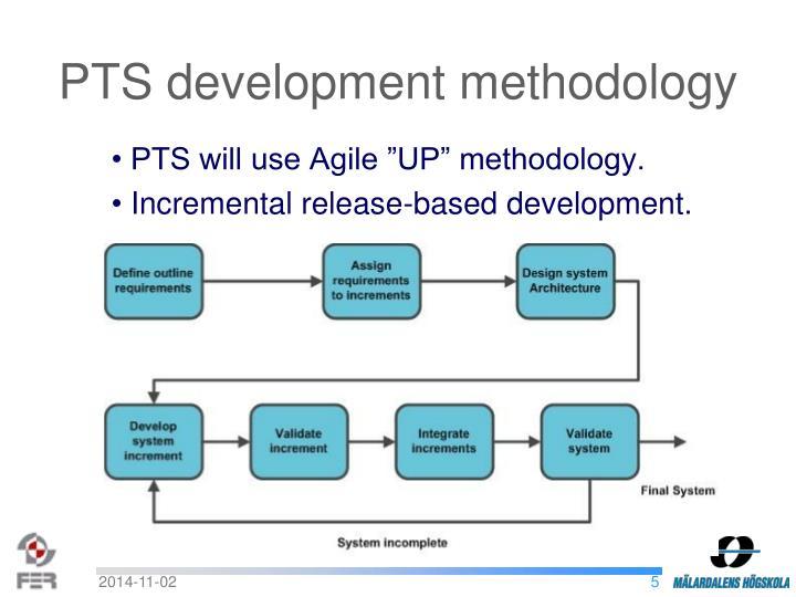PTS development methodology