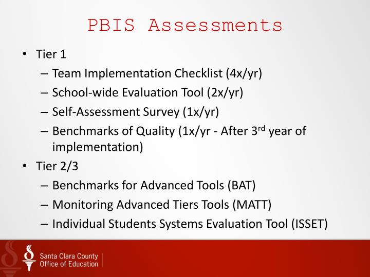 PBIS Assessments
