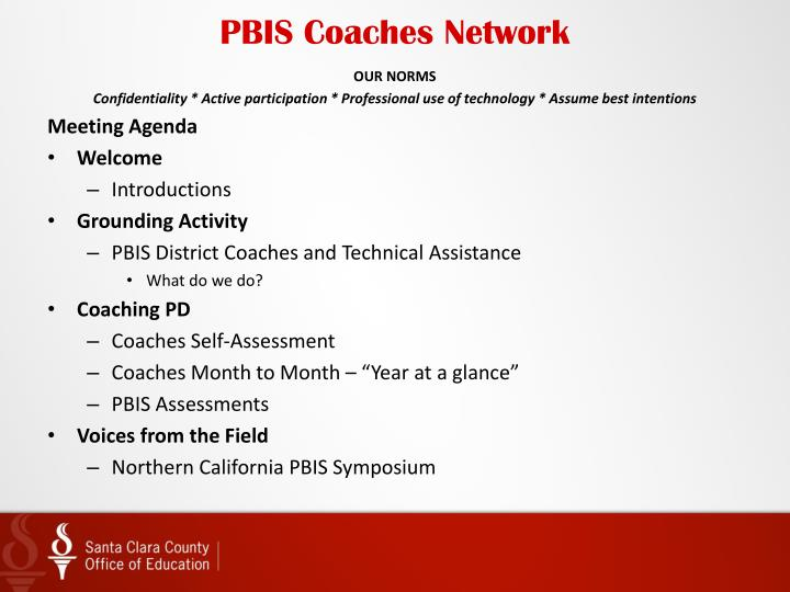 Pbis coaches network