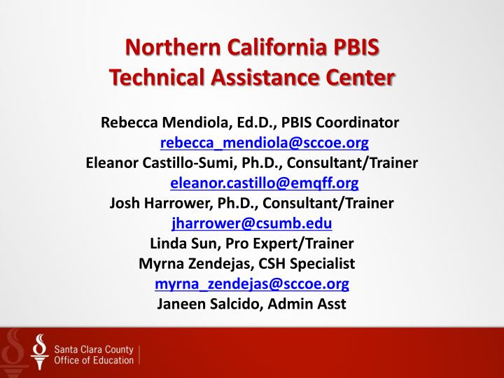 Northern California PBIS