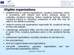 eligible organizations