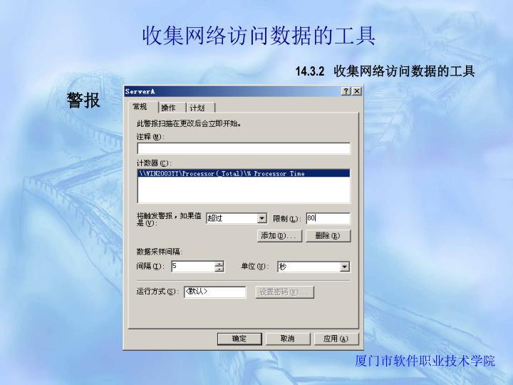 收集网络访问数据的工具