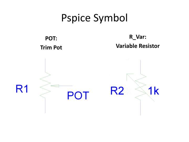 Pspice Symbol