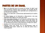 partes de un email1