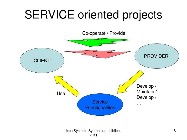 SERVICE oriented projects