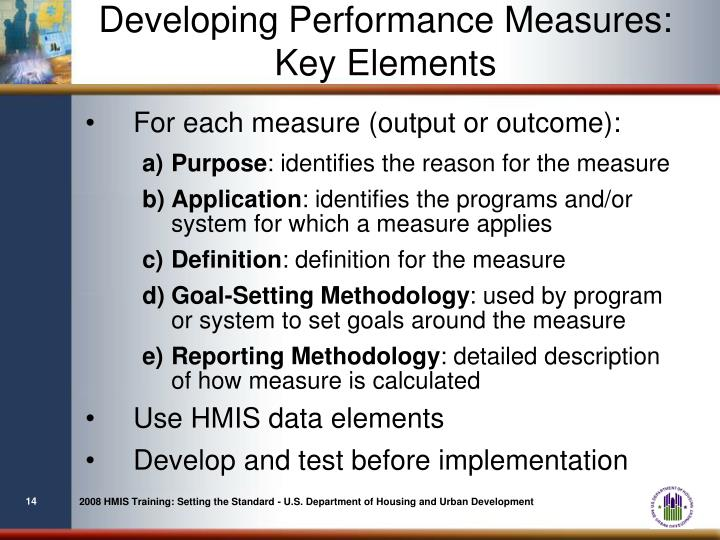 Developing Performance Measures:
