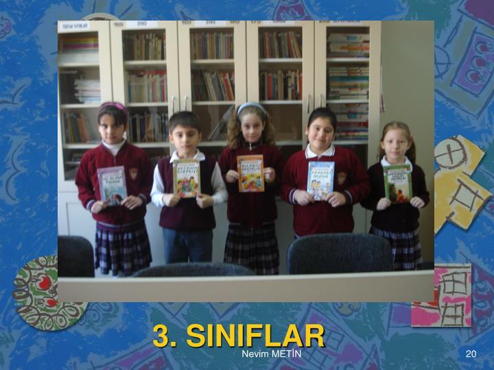 3. SINIFLAR