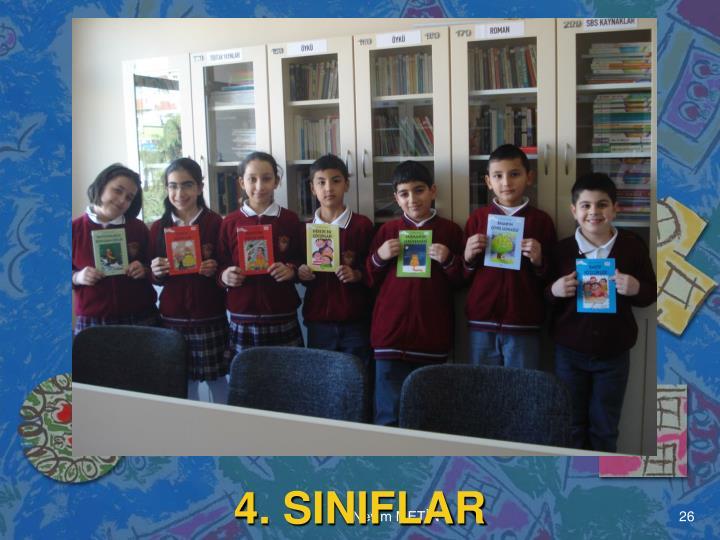 4. SINIFLAR