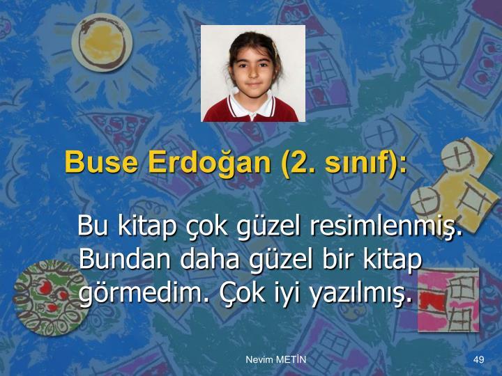 Buse Erdoğan (2. sınıf):