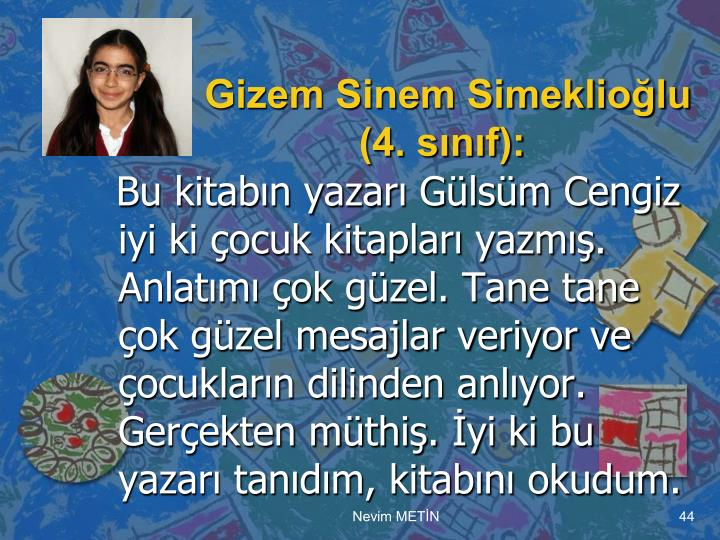 Gizem Sinem Simeklioğlu