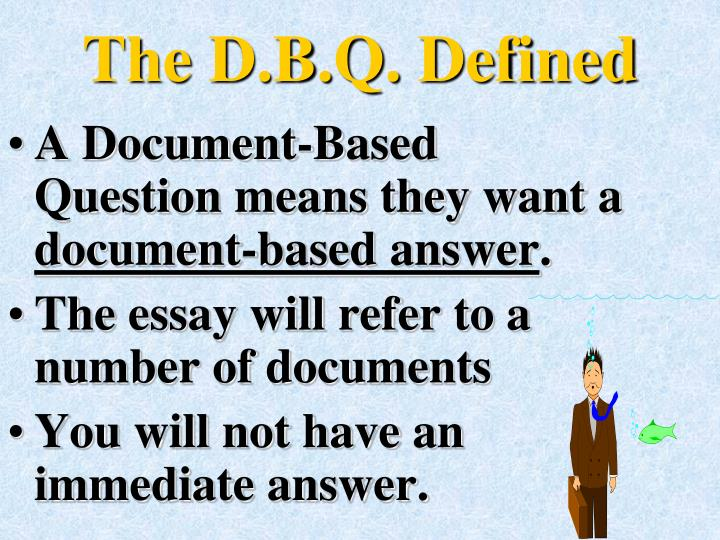 The d b q defined