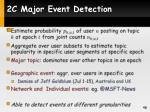 2c major event detection1