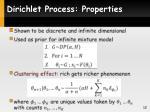 dirichlet process properties