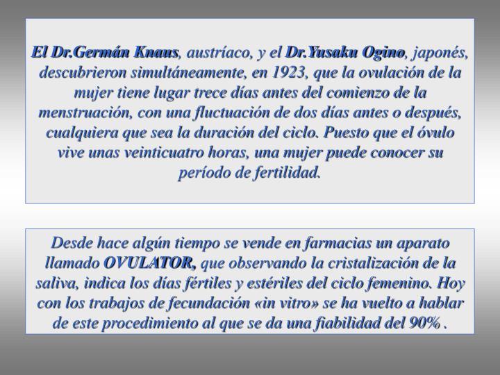 El Dr.Germán Knaus