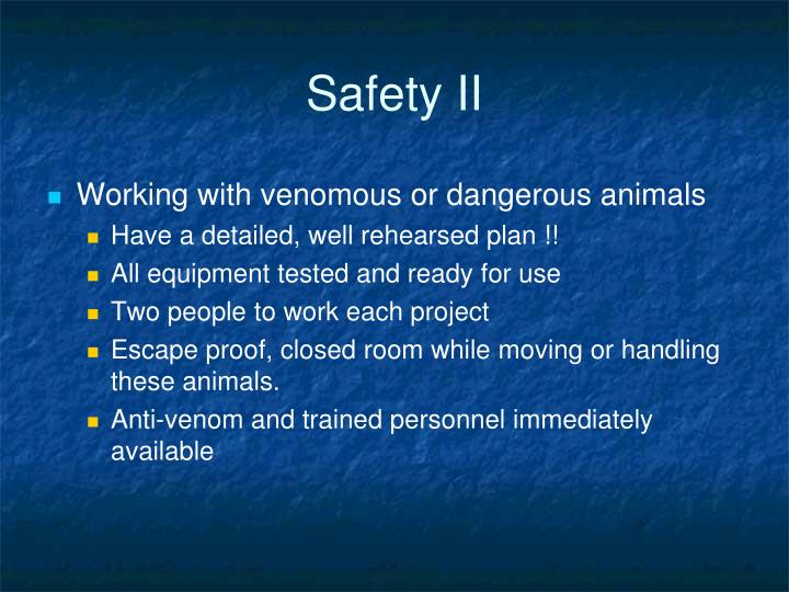 Safety II