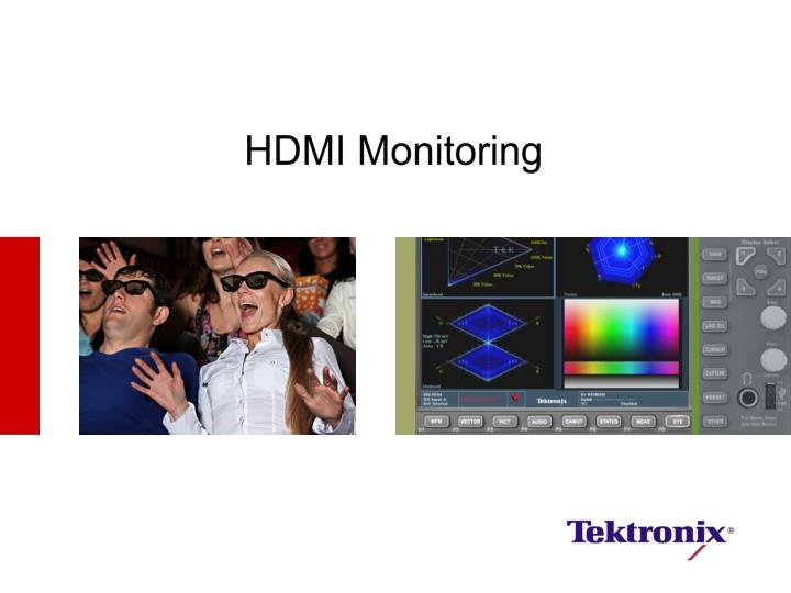 HDMI Monitoring