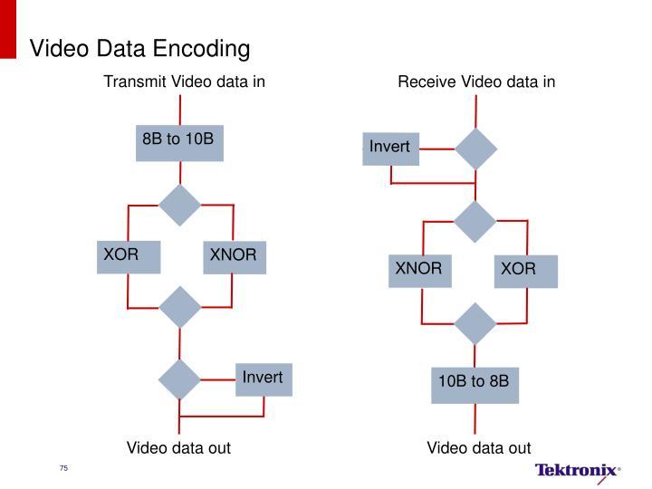 Video Data Encoding