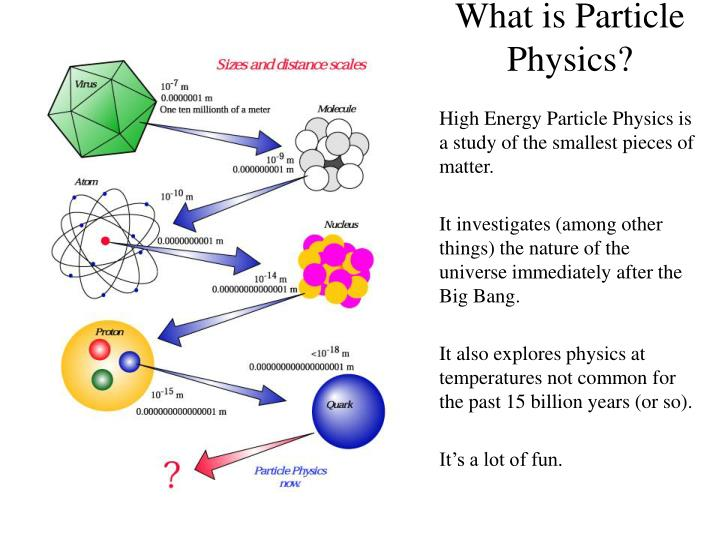 What is particle physics