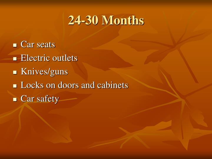 24-30 Months