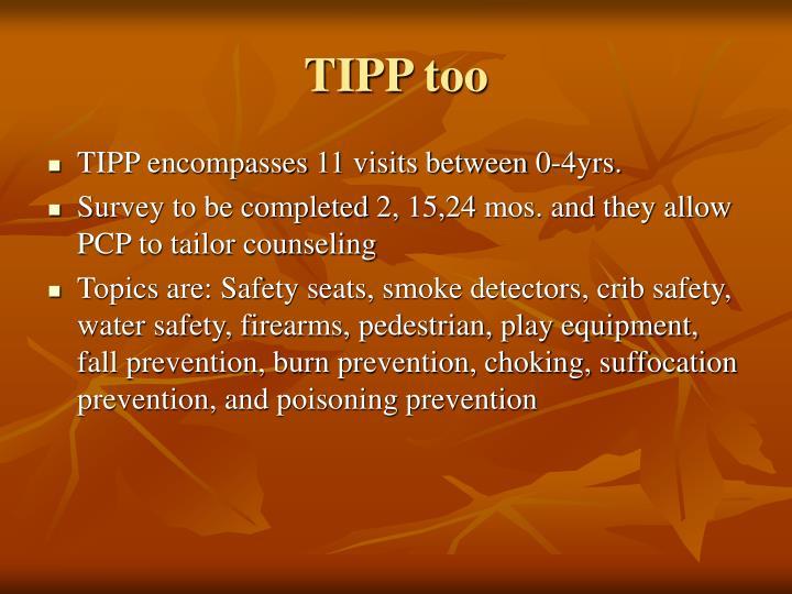 TIPP too