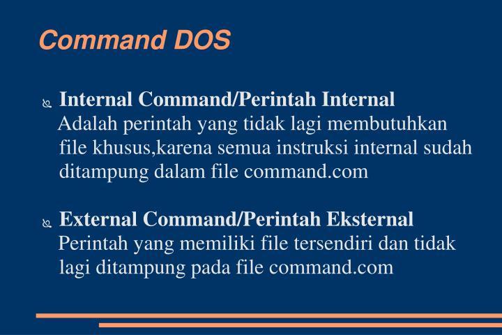 Command DOS