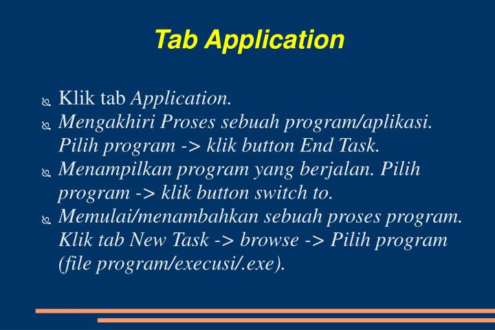 Tab Application