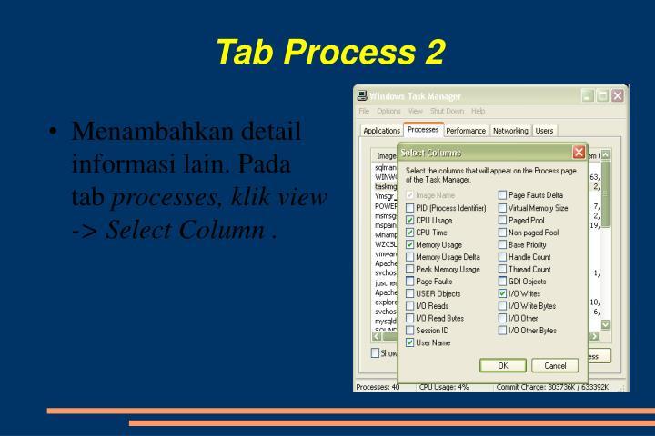 Tab Process 2