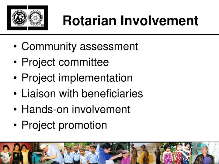Rotarian Involvement