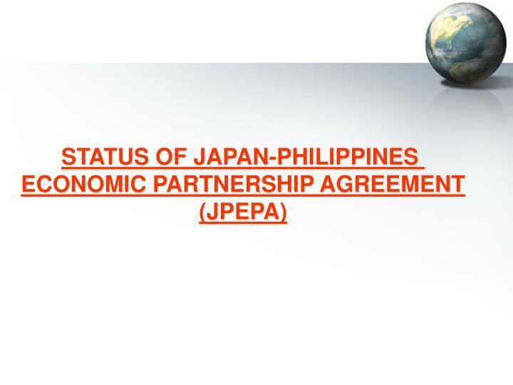 STATUS OF JAPAN-PHILIPPINES