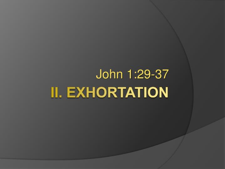 John 1:29-37