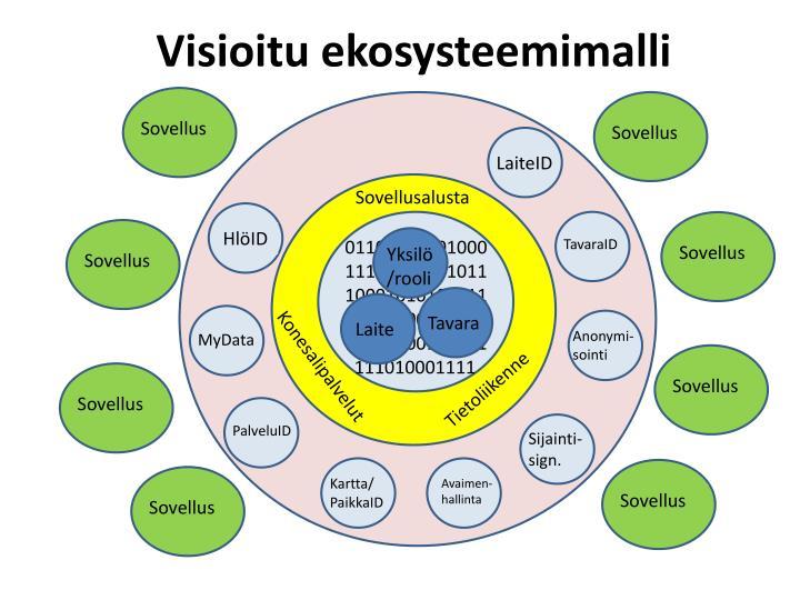 Visioitu ekosysteemimalli
