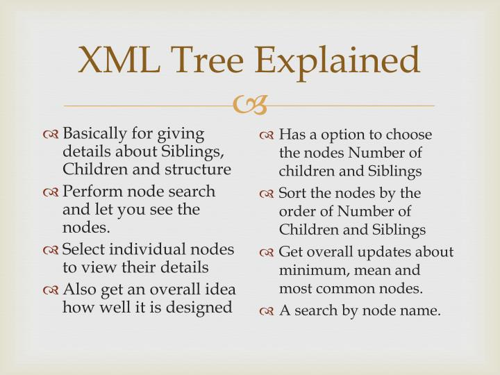 XML Tree Explained