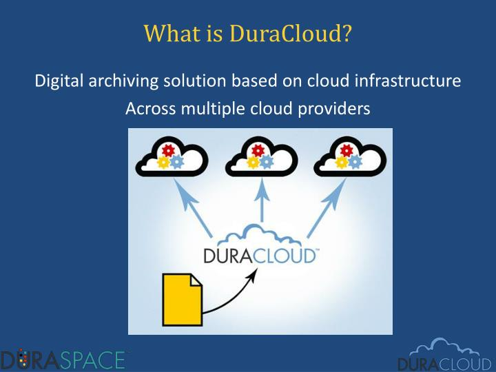 What is DuraCloud?
