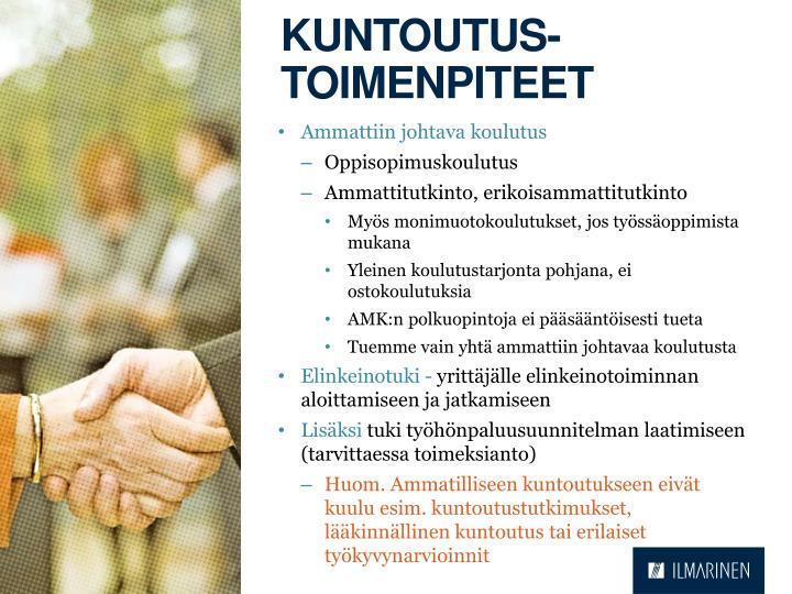 Kuntoutus-