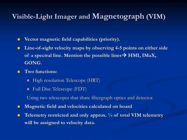 Visible-Light Imager and