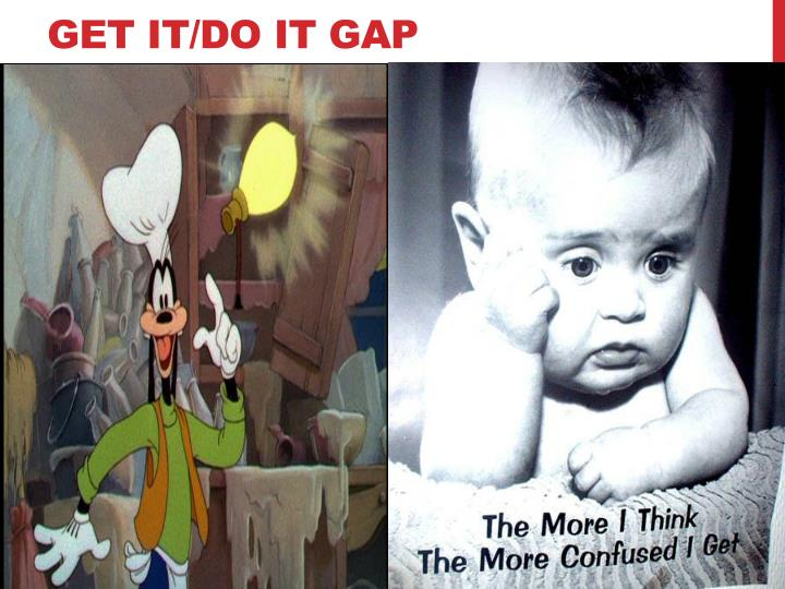 Get it do it gap