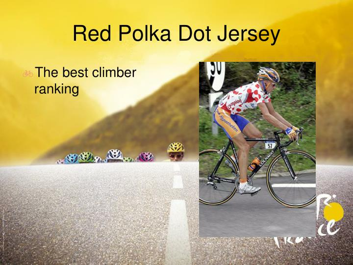 Red Polka Dot Jersey