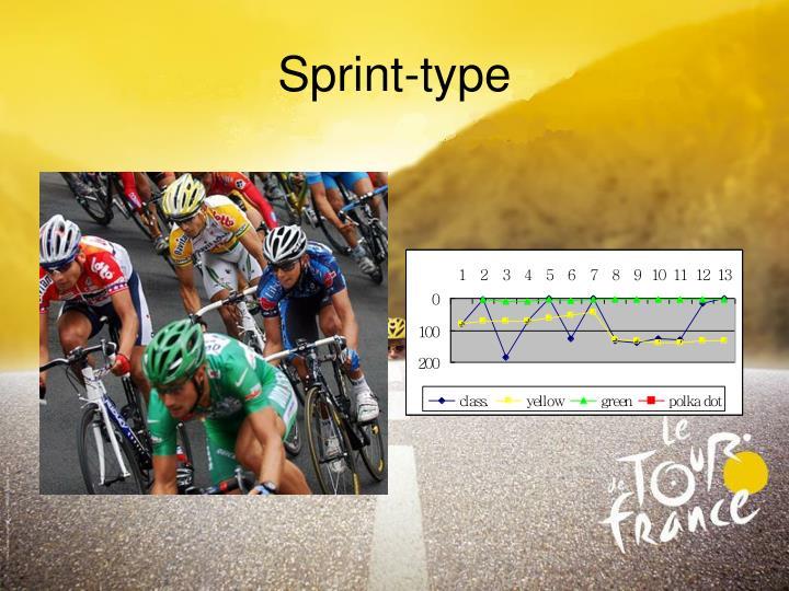 Sprint-type